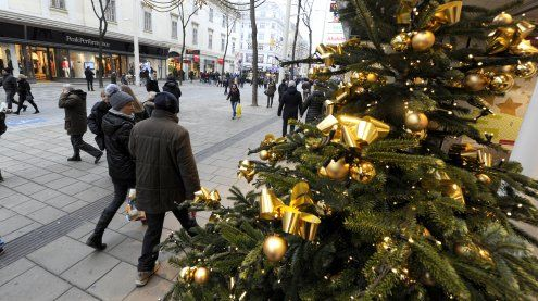 Weihnachtszeit: Betonblöcke auf der Mariahilfer Straße aufgestellt