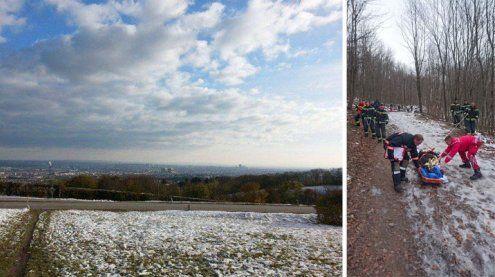 58-Jährige am Cobenzl gerettet