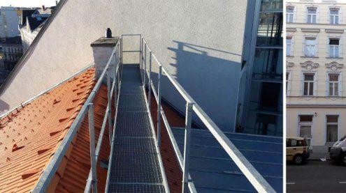 Frau stürzte aus 18 Metern auf Auto in Rudolfsheim-Fünfhaus