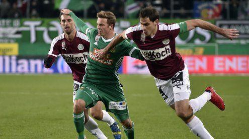 Mattersburg holt 2:2 gegen Rapid
