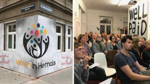 """Neuer Nachbarschaftsverein im 17. Bezirk: """"Mitten in Hernals"""""""