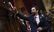 Torrent neuer Parlaments- präsident von Katalonien
