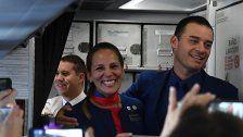 Papst traute Paar während Flugs in Chile