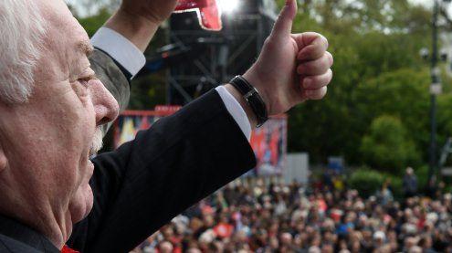 """Spitzen Umfragewerte: SPÖ hat Potenzial für """"Absolute"""" in Wien"""