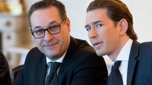 Kurz verteidigte Koalition mit FPÖ