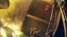 US-Feuerwehrmann fing fallendes Kind bei Brand