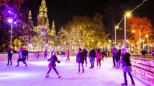 Wiener Eistraum 2018: Alle Infos zum Eislaufen am Rathausplatz