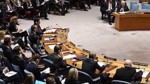 UNO-Resolution zu Waffenruhein Syrien wurde verabschiedet