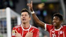 Lewandowski schoss Bayern spät zum Sieg