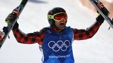 Kanadier Brady Leman gewann Gold im Ski Cross