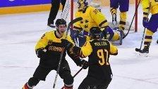 Deutschland sensationell im Eishockey-Semifinale