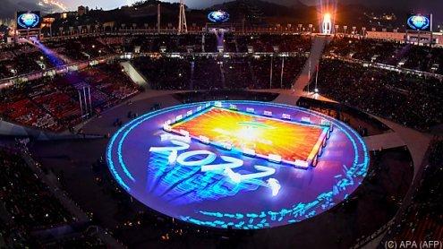 Winterspiele in Pyeongchangmit Zeremonie offiziell beendet