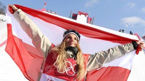 Gold für Anna Gasserim Big-Air-Bewerb der Snowboarder