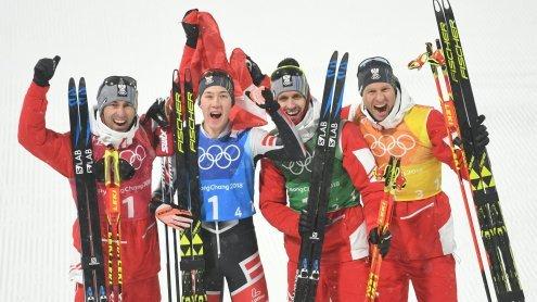 Nordische Kombination: Bronze für Österreich im Teambewerb