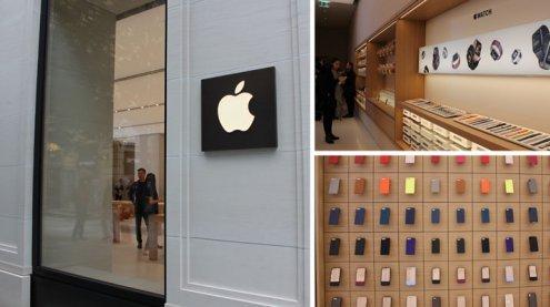 Einblicke in Österreichs ersten Apple Store auf Kärntner Straße
