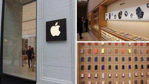 Erster Apple Store Österreichs eröffnet in Wien: Einblicke