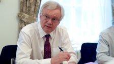 Brexit-Minister Davis spricht heute in Wien