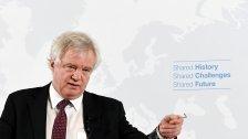 David Davis sprach in Wien über Brexit