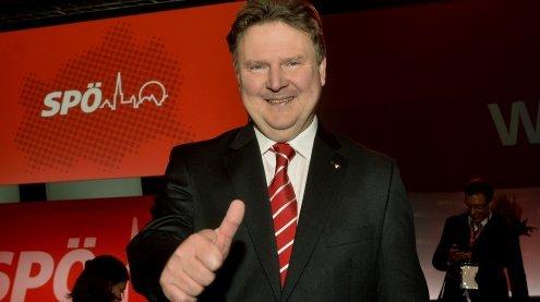 Wiener Parteichefs gratulierten Günther Platter zum Wahlerfolg