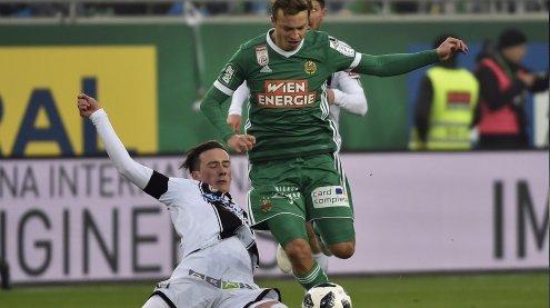 Krisenduell SK Rapid Wien gegen SK Sturm Graz endete mit 1:1