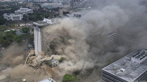 Mindestens 4 Tote bei schwerem Hotelbrand auf den Philippinen