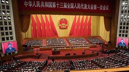 Xi schlägt im Volkskongress scharfe nationalistische Töne an