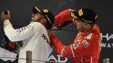 Vettel und Hamilton kämpfen um 5. Titel