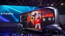 Toyota stellt autonomes Mehrzweck-Fahrzeug vor