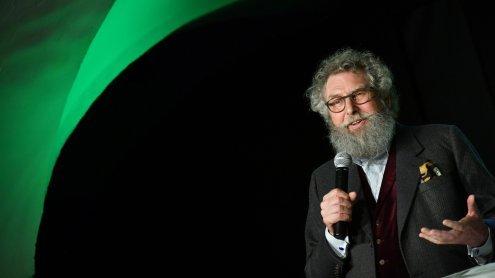 Wahlkampfauftakt der Grünen Salzburg mit Bio-Pionier Lampert