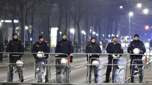 Wiener City: 3400 demonstrierten gegen Rassismus und Faschismus