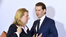 Ministerin Kneissl greift über den Balkan hinaus