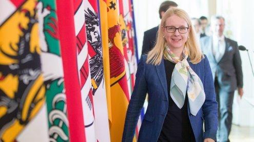 Wirtschaftsressort schrumpft: Ministerin dennoch zufrieden