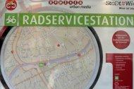Neue Radservicestationenin drei Wiener Bezirken