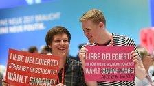 Nahles zur neuen SPD-Vorsitzenden gewählt