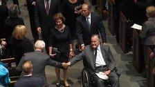 Ex-Präsident George Bush auf der Intensivstation
