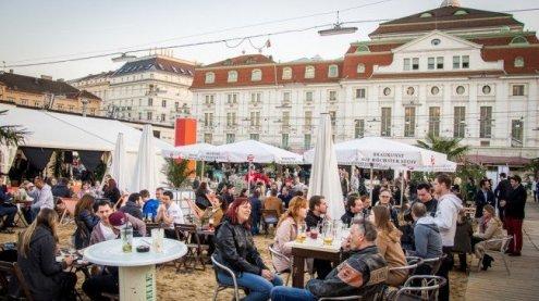 Dreitägige Season Opening Party bei Sand in the City in Wien startet