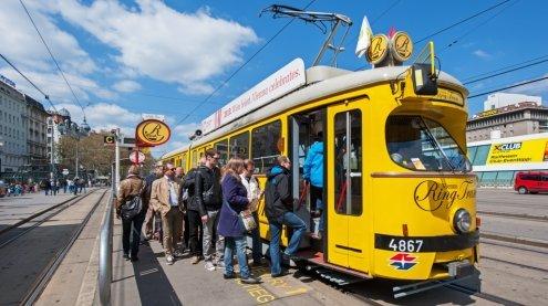 Vienna Ring Tram: Zahl der Gäste haben sich zu 2010 verdoppelt