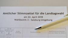 Wahllokale schließen schon um 16.00 Uhr