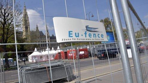 Wien-Marathon: Erste Sperren bereits am Samstag aufgebaut