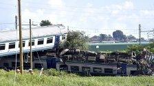 Zwei Tote und mehrere Verletzte bei Zugsunglück