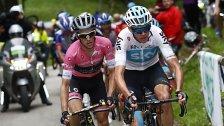 Froome erstmals Gesamt-sieger des Giro d'Italia