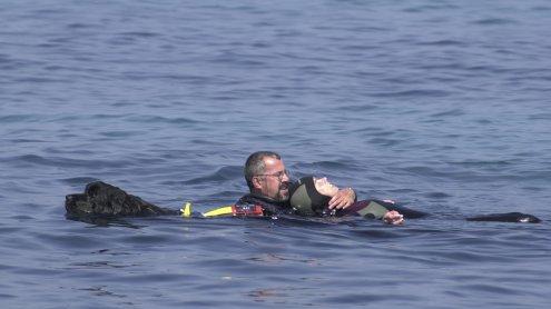 Italienische Küstenwache rettet Österreicher vor dem Ertrinken