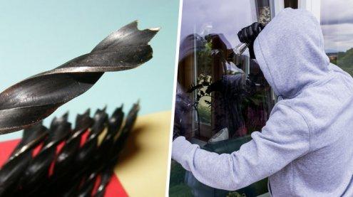 Neue Einbruch-Technik um Wien: Polizei warnt vor Fensterbohrern