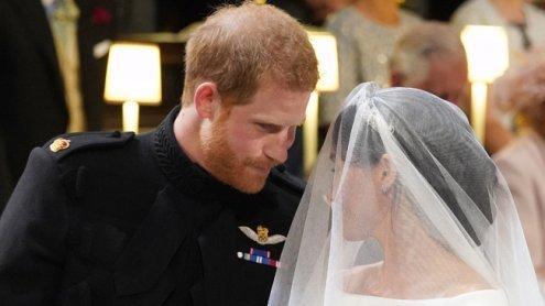 Das wurde also bei der Hochzeit von Harry & Meghan getuschelt