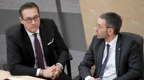 """BVT-Affäre: Strache sieht """"keine Fehler"""" bei Innenminister Kickl"""
