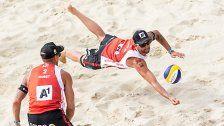 Doppler/Horst holten bei World-Tour-Turnier Titel