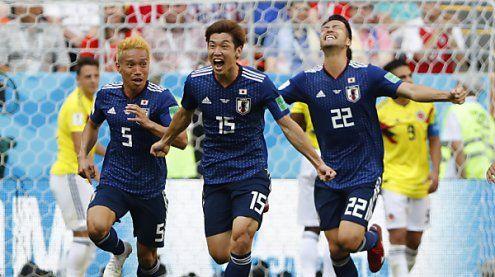 Gruppe H: Japan überraschte Kolumbien und gewann mit 2:1