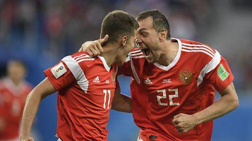 WM: Russland nach 3:1-Sieg über Ägypten praktisch im Achtelfinale