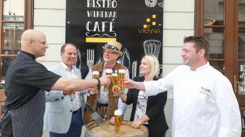 Wiener Bierwochen: Prominenz eröffnet Reservierungsstart