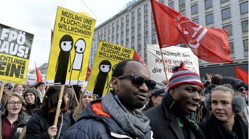 Weltflüchtlingstag: Demo gegen die ÖVP-FPÖ-Asylpolitik am 20.6.